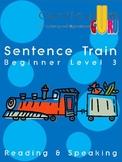 The Sentence Train - Beginner Level 3/7