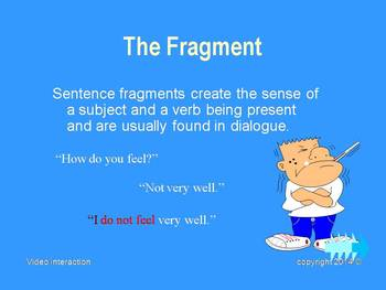 The Sentence - the grammar series