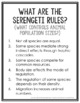 The Serengeti Rules Supplemental Resources