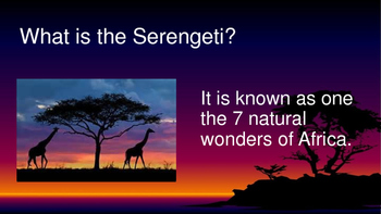 The Serengeti eBook PDF