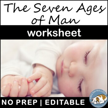 The Seven Ages of Man Worksheet
