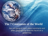 The Seven Continents: A fun and interactive way to learn a