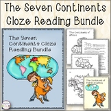 The Seven Continents Cloze Reading Comprehension