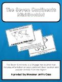 The Seven Continents Mini-Booklet