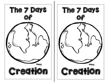 The Seven Days of Creation Booklet