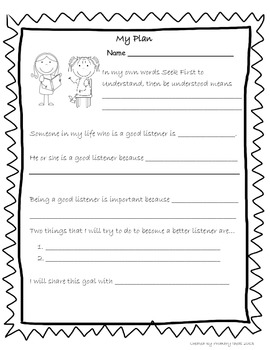 Analyzing Characters Graphic Organizer & Goal Setting Forms