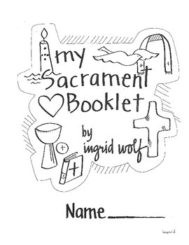 Catholic 7 Sacraments Activity Booklet