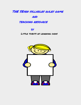The Seven Syllables Rules and Activities Book