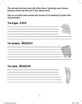 The Seven Teachings Workbook