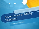The Seven Types of Reality Television - Power Point