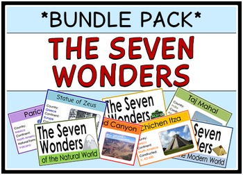 The Seven Wonders of the World (BUNDLE PACK)