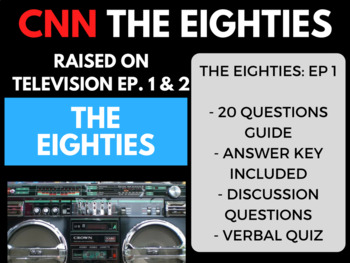 The Eighties CNN Ep. 1 Raised on Television