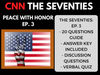 The Seventies CNN Ep. 3 Peace with Honor