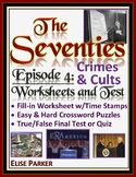 The Seventies Episode 4 Worksheets, Puzzles, and Test