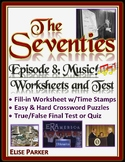 The Seventies Episode 8 Worksheets, Puzzles, and Test