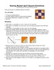 """The Sewing Basket"" Homework Kit for Kindergarten (Set A #2 of 10)"