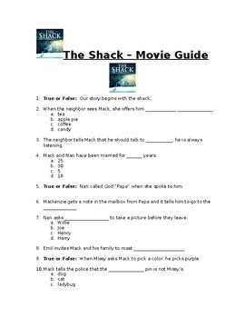 The Shack - Movie Guide
