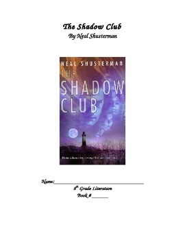 The Shadow Club Novel Packet
