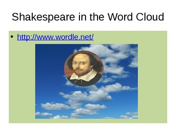 The Shakespeare Project Power Point