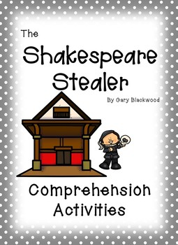 The Shakespeare Stealer Comprehension Activities