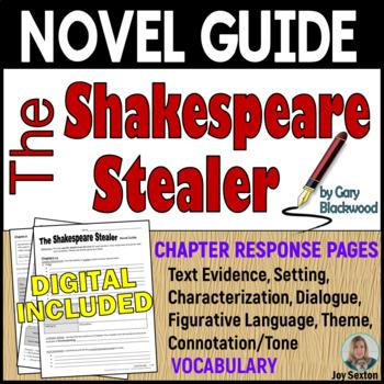 The Shakespeare Stealer: Novel Guide - Common Core Aligned