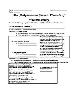 The Shakespearean Sonnet: Pinnacle of Western Poetry