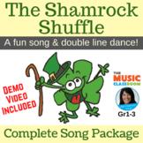 "St. Patrick's Day Song | ""Shamrock Shuffle"" Line Dance | C"