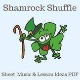 "St. Patrick's Day | ""Shamrock Shuffle"" Line Dance | Sheet"