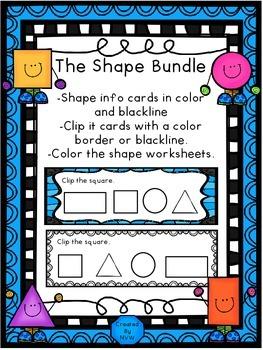 The Shape Bundle - Clip It
