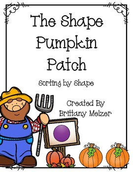 FREEBIE The Shape Pumpkin Patch