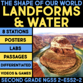 The Shape of Our World BUNDLE - Second Grade Science Stations