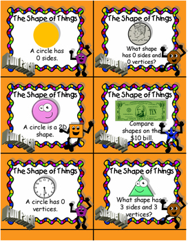 The Shape of Things Board Game