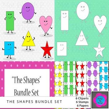The Shapes Bundle Pack