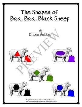 The Shapes Of Baa, Baa, Black Sheep