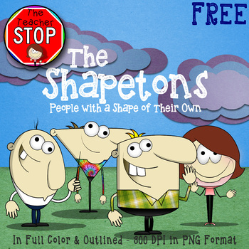 The Shapetons - People with a Shape of Their Own {The Teacher Stop}