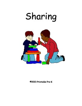 The Sharing Way Book and File Folder Game