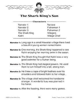 The Shark King's Son