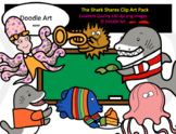The Shark Shares Clip Art Pack