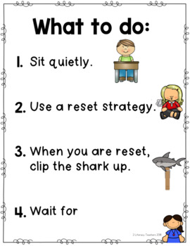 The Shark Tank: A Student Reset Station