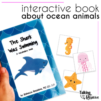 The Shark Was Swimming Ocean Animals Vocabulary book