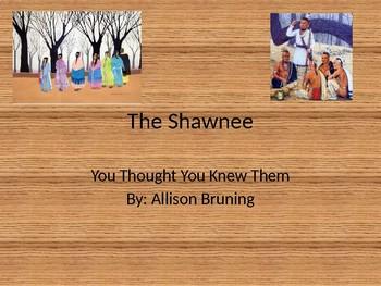 The Shawnee Tribe