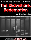 Activities and Handouts for The Shawshank Redemption by Stephen King
