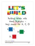 Let's Build! A Vowel Digraphs Workbook