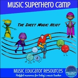Superhero Music Camp or Workshop