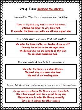 The Shelf Elf  Companion Activity - Library Rules