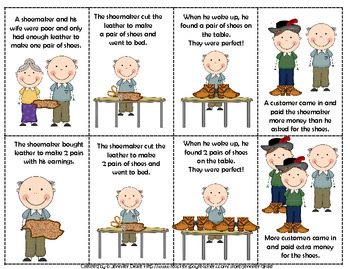 The Shoemaker & The Elves Comprehension & Supplemental Activities ~CC Aligned~