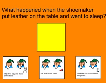 The Shoemaker and the Elves Flipchart