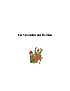 The Shoemaker and the Elves Unit for young children