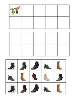 The Shoemaker & the Elves Ten Frames Games