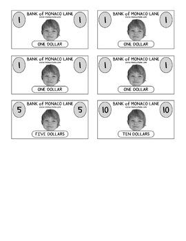 """""""The Shopping Bag"""" Homework Kit for Kindergarten (Set B #2 of 7)"""
